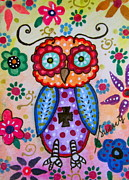 PRISTINE CARTERA TURKUS -  WHIMSICAL WISE OWL