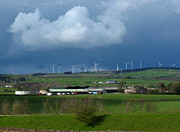 Generators Prints -  Wind Farm Weather Print by Phil Banks
