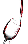 Pouring Wine Photos -  Wine Flowing by Joseph LaPlaca