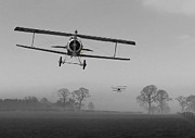 Warbirds Prints -  WW1 - Red in the Morning Print by Pat Speirs