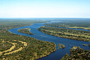 Widest Framed Prints -  Zambezi River Framed Print by Aidan Moran