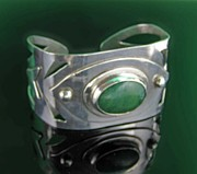 Open Jewelry - 0007 Deco Cuff by Dianne Brooks