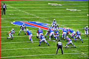 Buffalo Bills Prints - 0013 Buffalo Bills vs Jets 30DEC12 Print by Michael Frank Jr