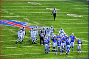 Buffalo Bills Prints - 003 Buffalo Bills vs Jets 30DEC12 Print by Michael Frank Jr
