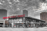 Milwaukee Prints - 0038 Milwaukee Public Market Print by Steve Sturgill