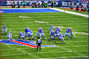 Buffalo Bills Prints - 005 Buffalo Bills vs Jets 30DEC12 Print by Michael Frank Jr