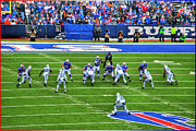 Buffalo Bills Prints - 007 Buffalo Bills vs Jets 30DEC12 Print by Michael Frank Jr