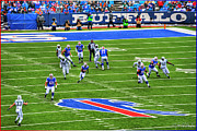 Buffalo Bills Prints - 009 Buffalo Bills vs Jets 30DEC12 Print by Michael Frank Jr