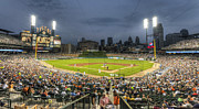 Major Prints - 0101 Comerica Park - Detroit Michigan Print by Steve Sturgill
