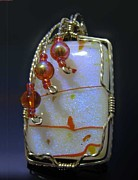 Sparkly Jewelry - 0748 Tangerine Sky by Dianne Brooks