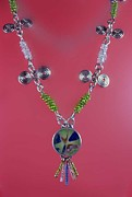 Egyptian Jewelry - 0753 Spring by Dianne Brooks