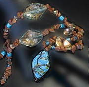 Lamp Jewelry - 0797 T4ree of Life by Dianne Brooks