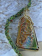 Sand Jewelry Originals - 0820 Sunset Ripples by Dianne Brooks