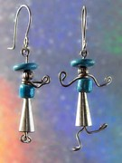 Dance Jewelry Originals - 0936 Hattitudes by Dianne Brooks
