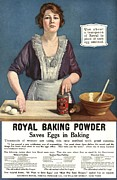 Nineteen-tens Art -  1918 1910s Usa Cooking Royal Baking by The Advertising Archives