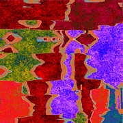 0322 Abstract Thought Print by Chowdary V Arikatla