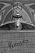 Passenger Photos - 1911 Mercedes 50 HP Maythorn Five Passenger Tourer Hood Ornament by Jill Reger