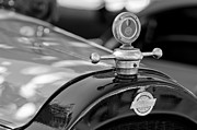 Studebaker Framed Prints - 1922 Studebaker Hood Ornament Framed Print by Jill Reger