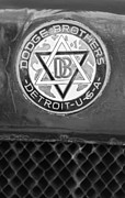 1923 Prints - 1923 Dodge Brothers Depot Hack Emblem Print by Jill Reger