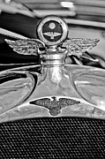 1923 Prints - 1923 Duesenberg Model A Touring Hood Ornament Print by Jill Reger