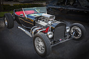 Detailed Rich Prints - 1925 Ford Model T Hot Rod Print by Rich Franco