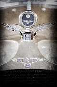 Collector Hood Ornament Metal Prints - 1926 Duesenberg Model A Boyce Motometer - Hood Ornament Metal Print by Jill Reger