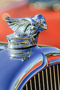 Vintage Hood Ornament Prints - 1927 Buick Goddess Hood Ornament Print by Jill Reger