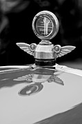 Motometer Posters - 1927 Chandler 4-Door Hood Ornament Poster by Jill Reger