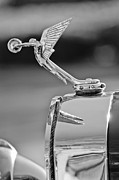 Collector Hood Ornament Posters - 1927 Isotta-Fraschini Tipo 8A Boat-Tail Tourer Hood Ornament Poster by Jill Reger