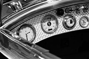 Rolls Royce Framed Prints - 1927 Rolls-Royce Phantom I Tourer Dashboard Gauges Framed Print by Jill Reger
