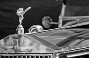 Derby Photos - 1928 Rolls-Royce Phantom I Derby Speedster Hood Ornament by Jill Reger