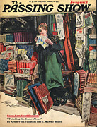 Shopping Drawings - 1930s,uk,passing Show,magazine Cover by The Advertising Archives