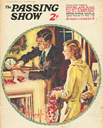 Christmas Eve Drawings - 1930s,usa,the Passing Show,magazine by The Advertising Archives