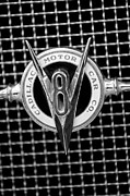 Cadillac Prints - 1931 Cadillac Grille Emblem Print by Jill Reger