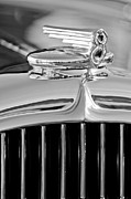 1932 Framed Prints - 1932 Buick Series 60 Phaeton Hood Ornament Framed Print by Jill Reger