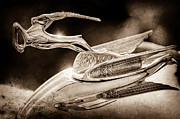 Vintage Hood Ornament Prints - 1933 Chrysler Imperial Hood Ornament Print by Jill Reger