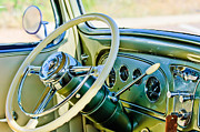 1933 Pontiac Framed Prints - 1933 Pontiac Steering Wheel Framed Print by Jill Reger