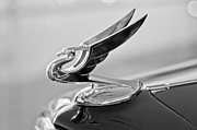 1935 Framed Prints - 1935 Chevrolet Hood Ornament 4 Framed Print by Jill Reger