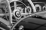 1936 Photos - 1936 Mercedes-Benz 540 Special Roadster Steering Wheel by Jill Reger