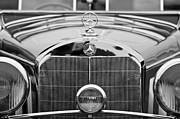 Collector Hood Ornament Metal Prints - 1936 Mercedes-Benz 540K Mayfair Special Roadster Metal Print by Jill Reger