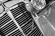 1938 Prints - 1938 Chevrolet Coupe Grille Emblems Print by Jill Reger