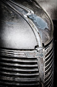 1938 Framed Prints - 1938 Chevrolet Hood Ornament - Emblem Framed Print by Jill Reger