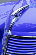 1938 Prints - 1938 Ford Hood Ornament Print by Jill Reger