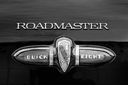 1939 Prints - 1939 Buick Eight Roadmaster Emblem Print by Jill Reger