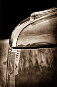 Car Photos Prints - 1939 Studebaker Commander Hood Ornament Print by Jill Reger