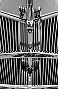 1940 Ford Framed Prints - 1940 Ford Grille Emblems Framed Print by Jill Reger