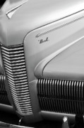 Car Detail Prints - 1940 Nash Grille Print by Jill Reger