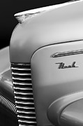 Vintage Hood Ornament Prints - 1940 Nash Sedan Grille  Print by Jill Reger