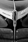 Champion Photo Prints - 1941 Studebaker Champion Hood Emblem Print by Jill Reger