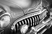 1947 Photos - 1947 Buick Eight Super Grille Emblem by Jill Reger